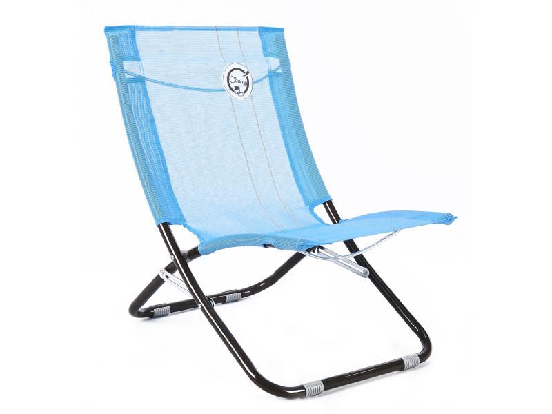 Chaise De Plage Structure Pliable Et Confortable Vente