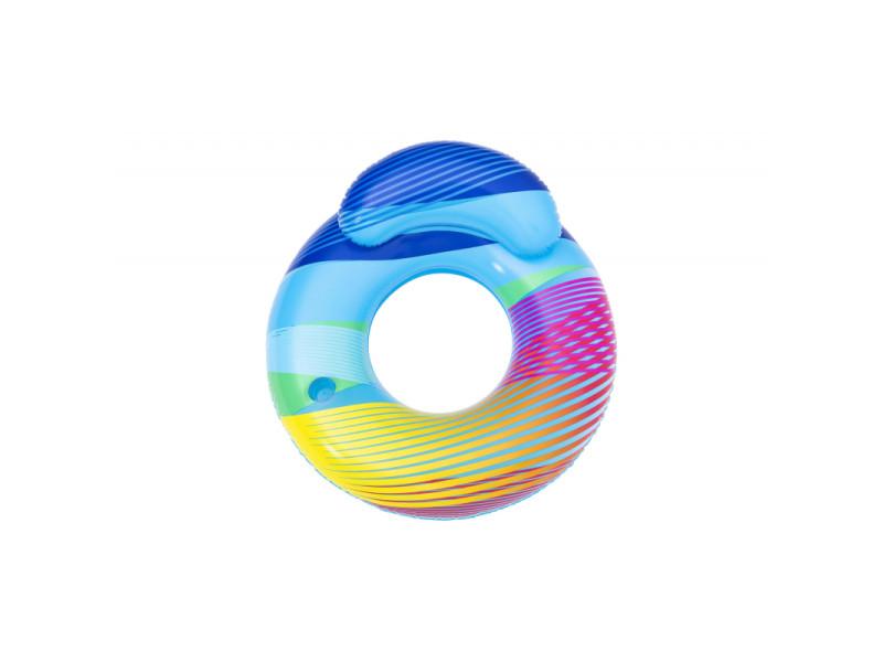 Bouée avec dossier et lumière led - swim bright - 118 x 117 cm 428973