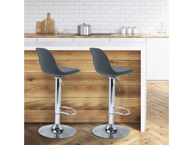 De Lot Vente Karl Tabourets Gris Market Id 2 Bar Design hsCtQrd