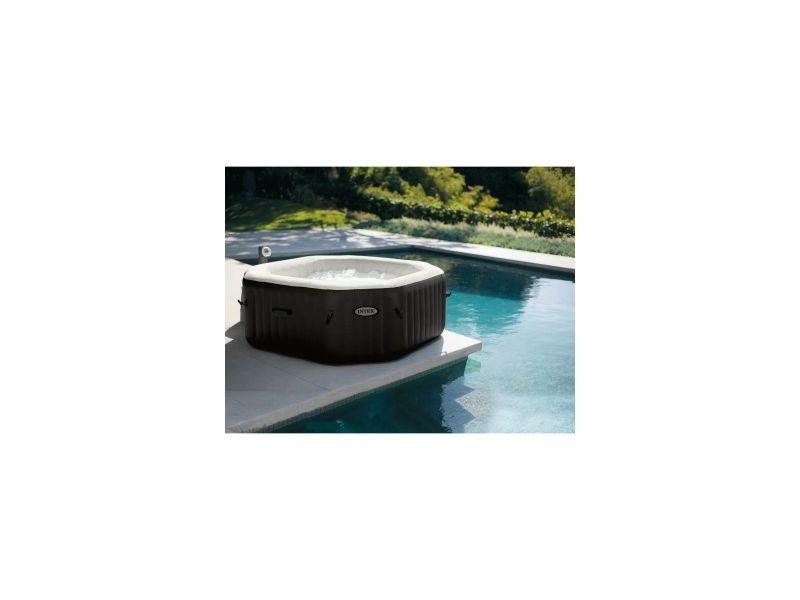 spa gonflable intex pure spa jets et bulles 6 personnes. Black Bedroom Furniture Sets. Home Design Ideas