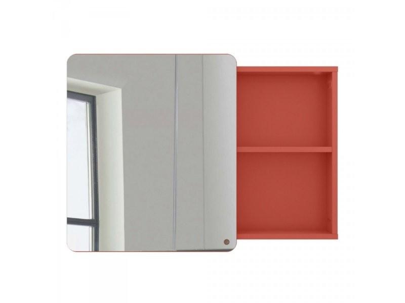 Miroir placard salle de bain 58x80cm en bois atole 9004982013