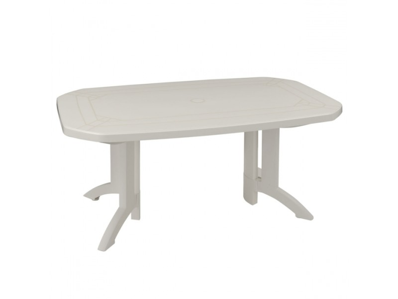 Table de jardin vega 165x100 grosfillex - Vente de ...