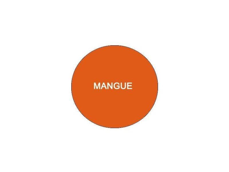 Luton drap housse 90x190 mangue