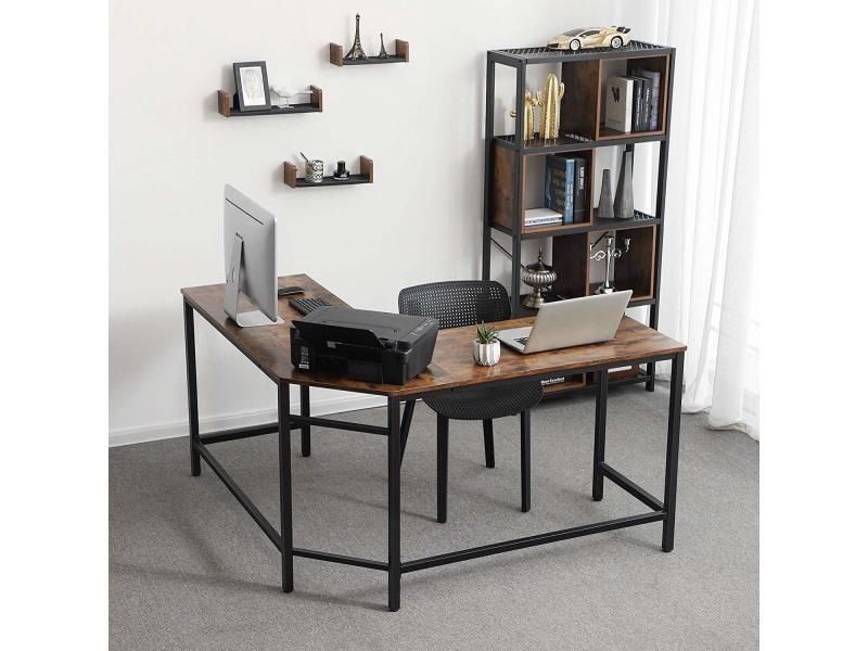 Bureau informatique bureau d angle table d tude en - Bureau d etude informatique ...