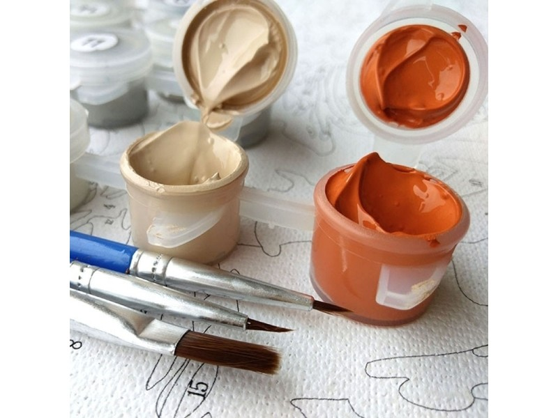 Peinture créative bricolage par chiffres peinture à l ...