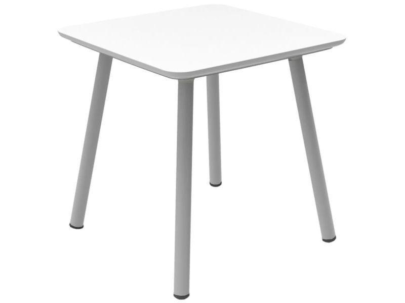 Allibert table de jardin julien blanc 219259 420023 - Vente ...