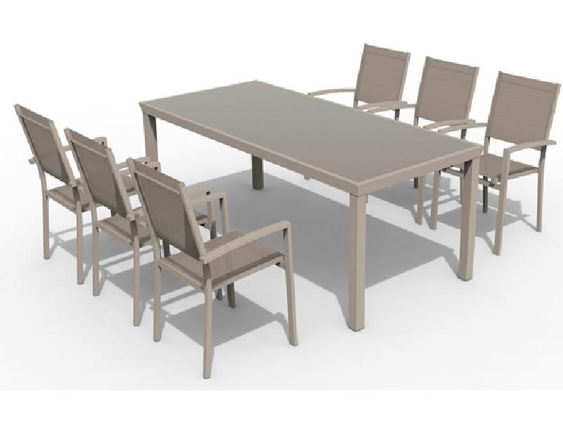 Emejing Table Et Chaise De Jardin Couleur Taupe Ideas - House Design ...