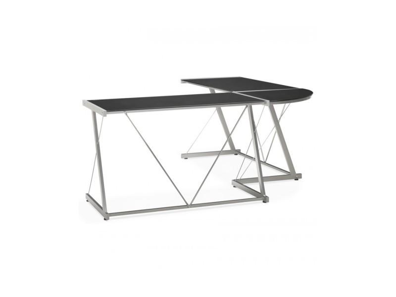 Bureau design juha black 180x180x75 cm