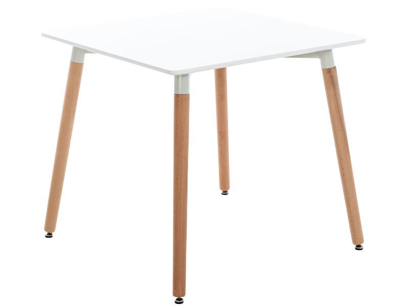 Table de cuisine viborg , blanc /80 cm