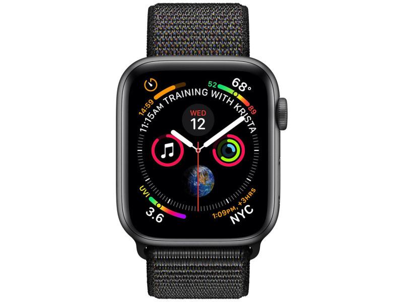 Apple watch series 4 gps + cellular boîtier en aluminium ...