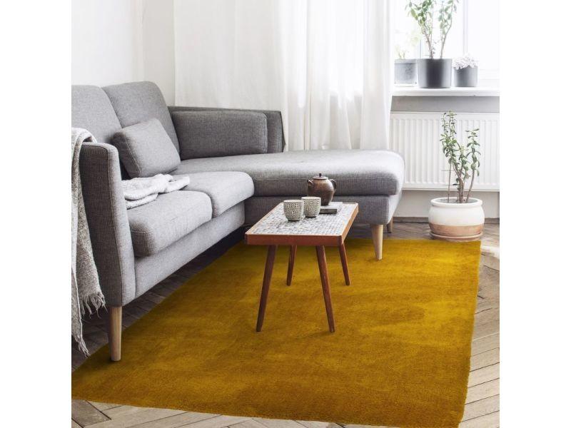 Tapis cocoon 160x230 jaune scandinave 16-0953tpx - Vente ...