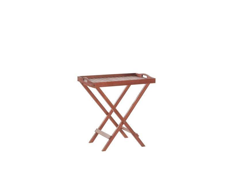 Table de jardin en bois toscana 6068 - Vente de BELIANI ...