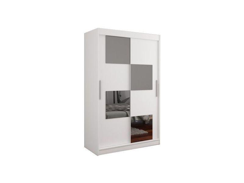 Armoire 120 Cm Miroir