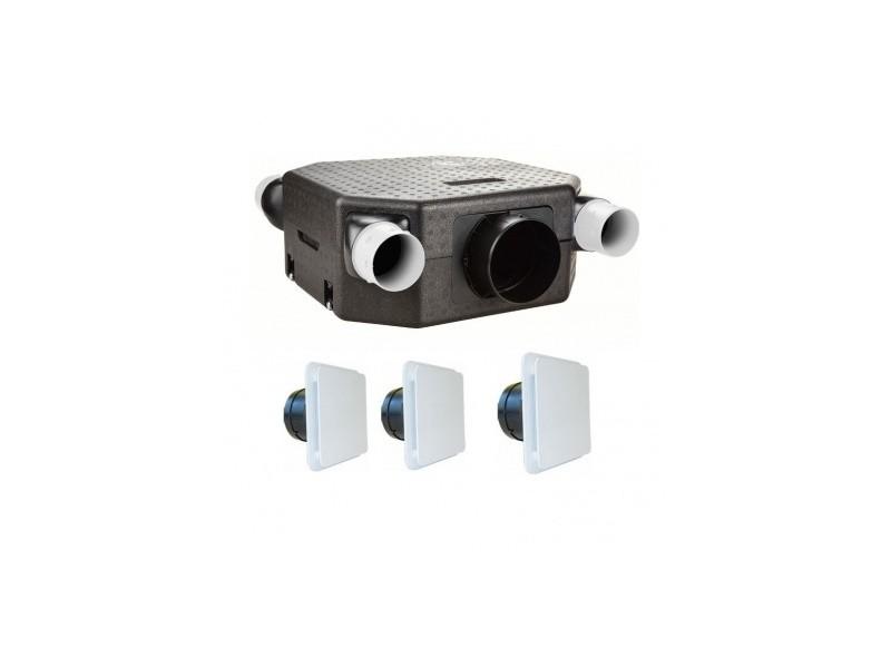Kit Vmc Deco Flat K Autoréglable Unelvent 603121 Vente