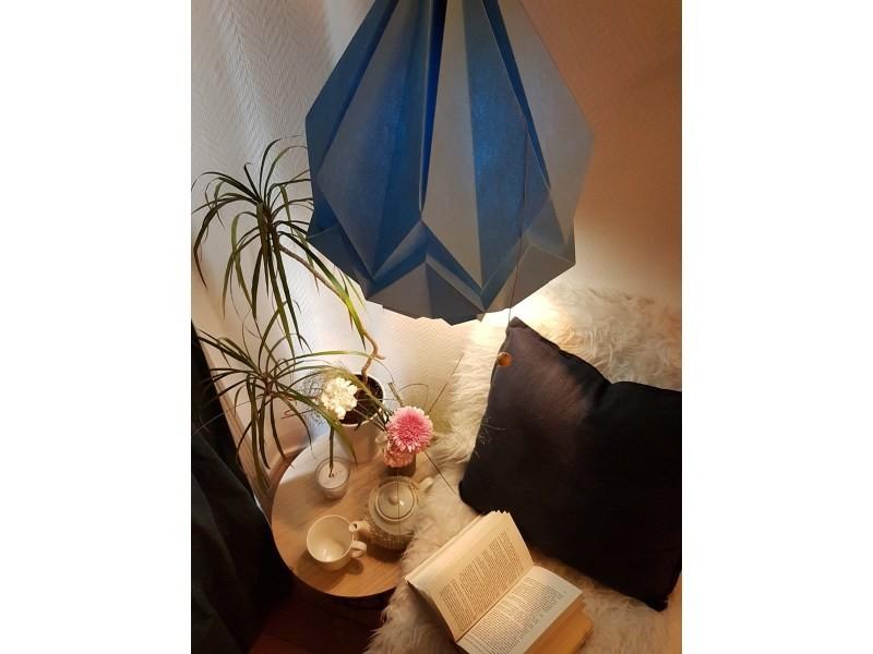 Design En Grande Couleur Vente De Uni Origami Papier Suspension c1TJKlF