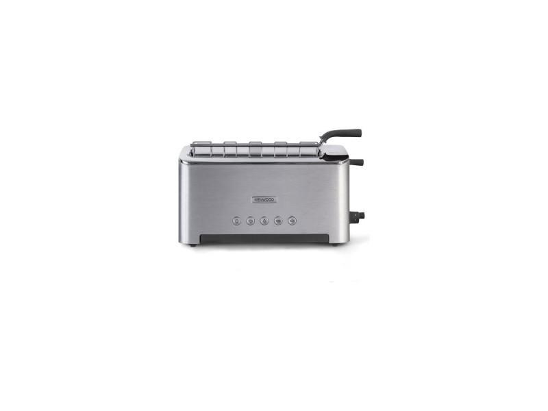 Kenwood ttm610 grille pain persona fente ajustable 1080w - aluminium brosse et gris KEN5011423172293