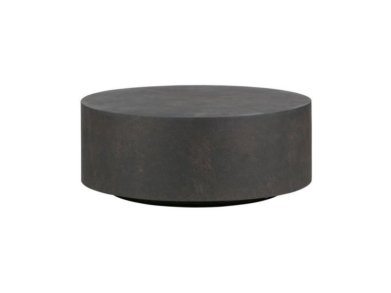 Table basse ronde en argile intérieur extérieur sino 375448-B