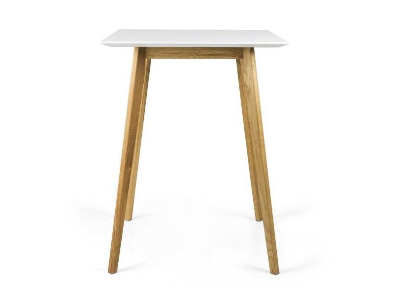 Table haute 105cm en bois dodi 9002187001