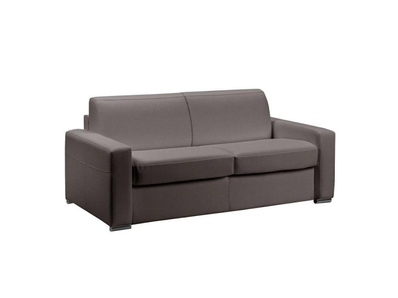 Lit Eco Rapido 140 Cm Master Taupe Places Canapé Cuir Convertible 3 k8ZNwPX0On