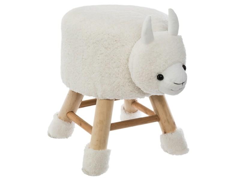 Mouton tierhocker Coffre Tabouret Jouet Caisse banc Repose-pied enfants Tabouret
