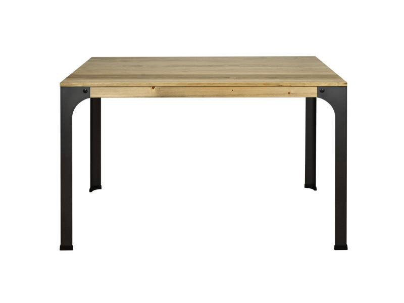 Table de bureau bristol. Style industriel vintage - 80x120x75 cm CCVB8012075EV