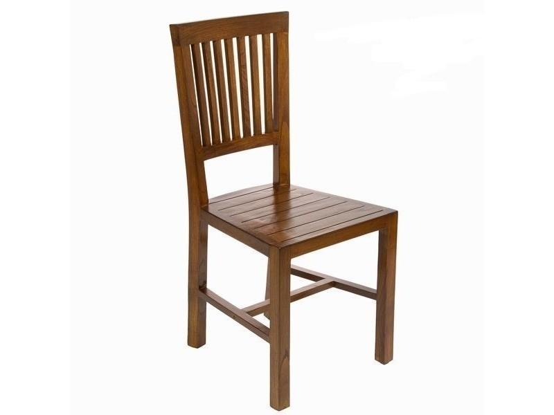 Chaise En Bois D Acacia Pour Salle A Manger Vente De Chaise