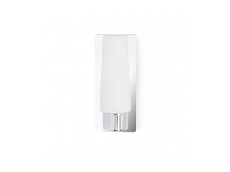 Applique salle de bains chrome doka 1 ampoule vente de faro