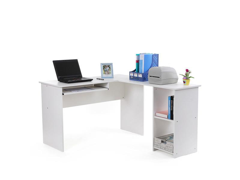 Superieur Bureau Informatique Du0027angle Bureau Du0027ordinateur Meuble Du Bureau Clavier  Blanc Lcd810w De