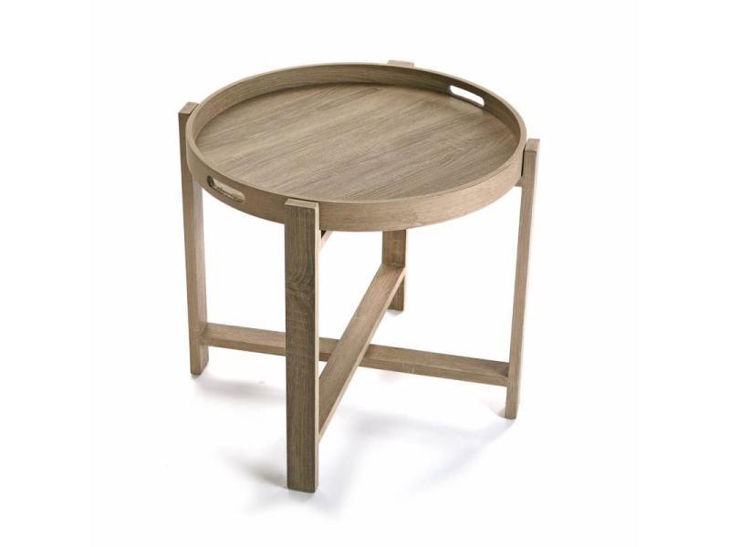 Table D Appoint Ronde Pliable Vente De Table Basse