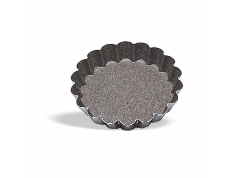 Moule à tartelette bord cannelé ø 5 à 12 cm - pujadas - acier 12 (ø) cm