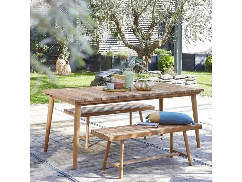 Salon de jardin en bois de teck 6 à 8 places - Vente de Salon de jardin ...