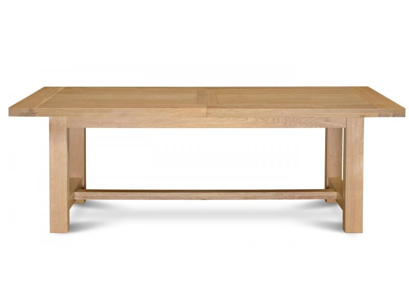 Table Extensible Mansart Bois Chêne Clair Massif Vente