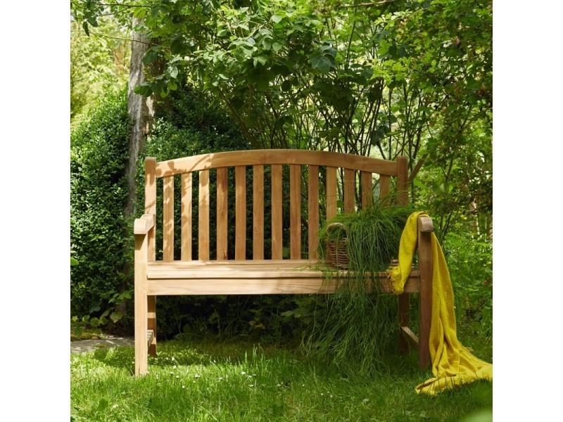 Banc En Bois De Teck 120 Vente De Chaise De Jardin Conforama