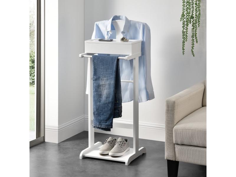 en.casa]® valet de chambre avec boîte ouvrable avec 4 poches 43,5 x ...