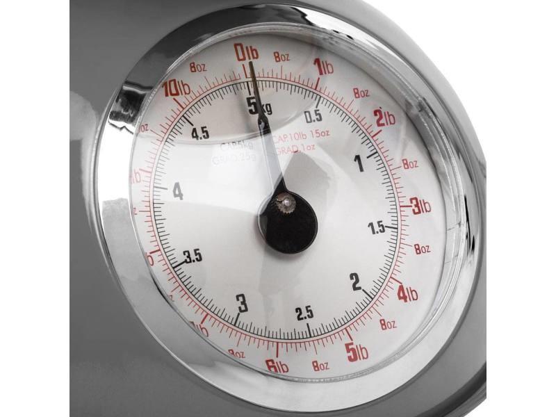 Balance de cuisine rétro grise 5kg - Vente de SECRET DE GOURMET ...