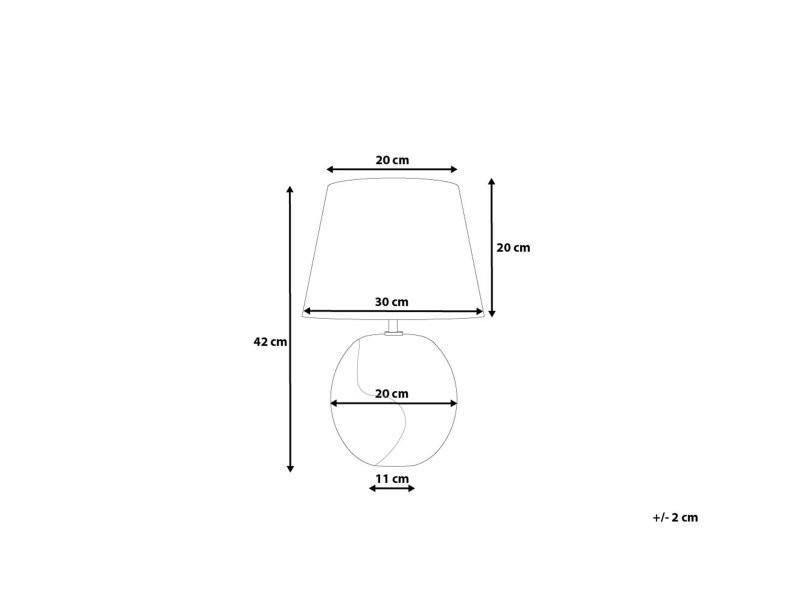 De Marron Vente 78216 Argentée Moderne Argun Lampe Chevet Et UVSpzM