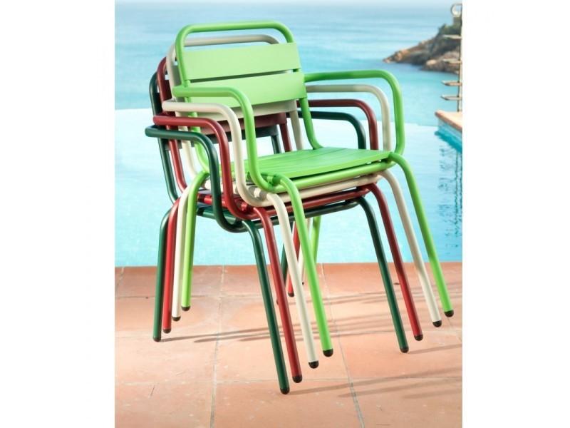 Visalia - fauteuil de jardin design métal - couleur ...