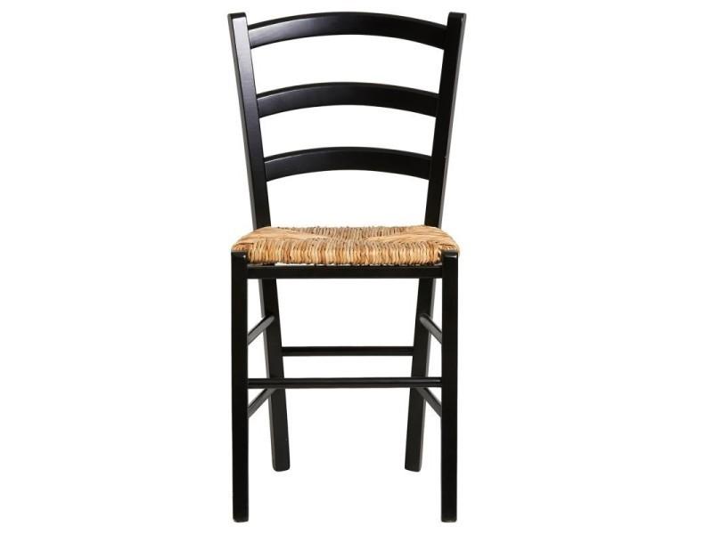 conforama chaises salle a manger bois paille