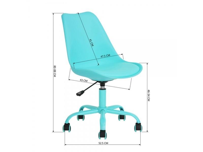 scandinave CALICOSY Chaise de de bureau style Vente 0nP8kwOX