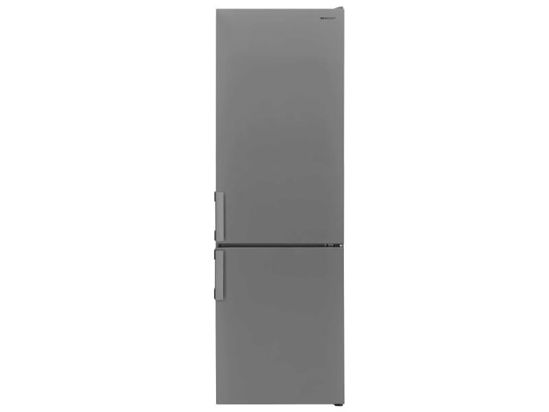 Réfrigérateur combiné 270l froid statique sharp 54cm a+, sjbb04ntxsf