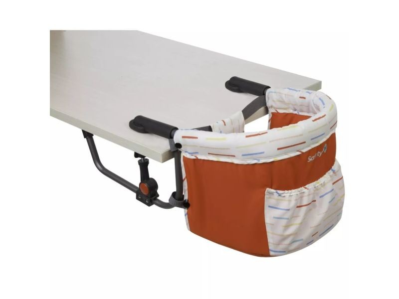 Safety 1st Siege De Table Pour Bebe Smart Lunch Red Lines 409232