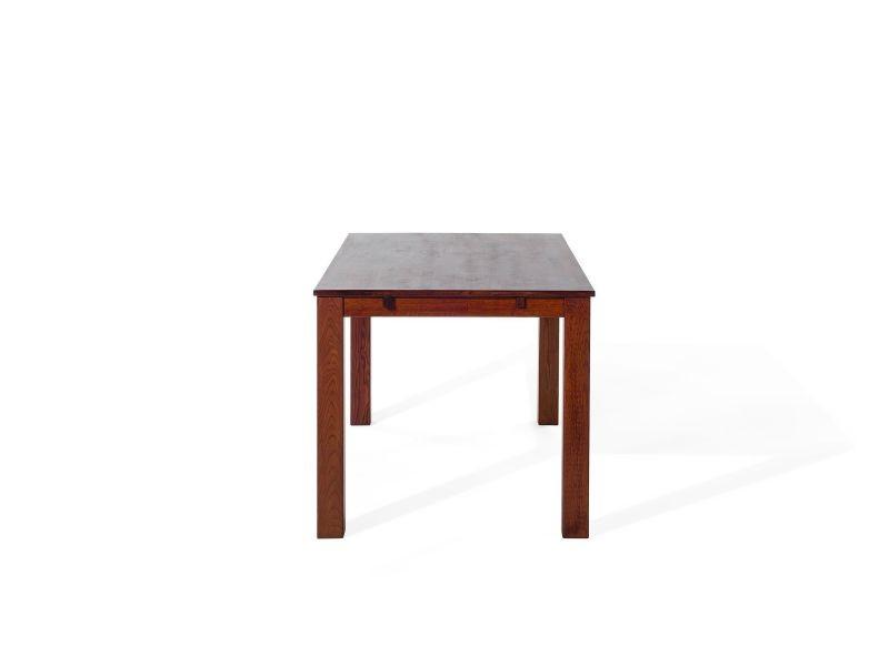 85 à cm salle de 150 x Table maxima chêne brun manger en 8wOmNn0v