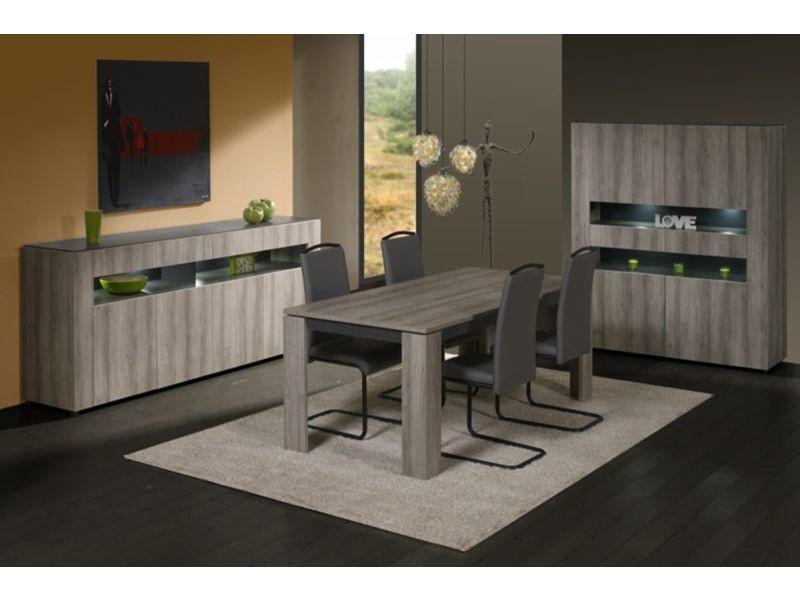 2 pvc chaises et de chromés coloris Lot en pieds moderne XiuPZOk