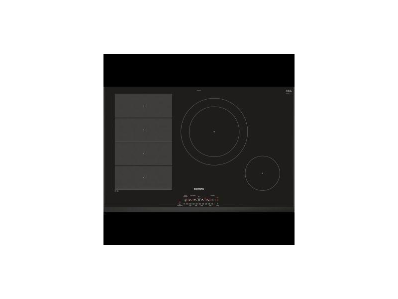 meilleur authentique 05f55 be3a7 Siemens plaque cuisson induction 80 cm 4 foyers powerboost ...
