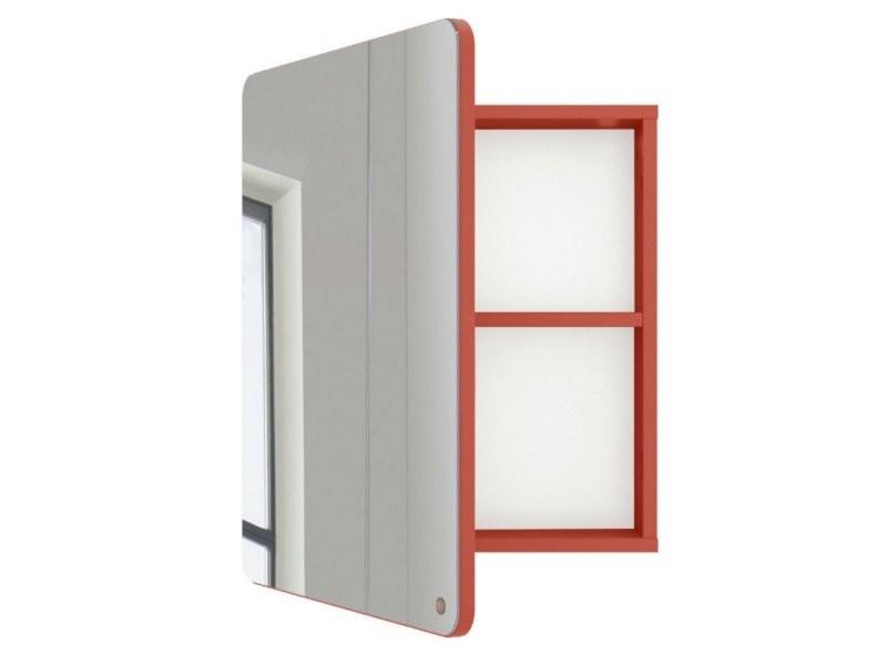 Miroir de salle de bain avec placard en bois atole 9004980013