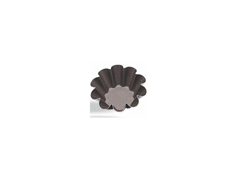 Mini moule à brioche ø 6 à 11 cm - pujadas - acier 11 (ø) cm