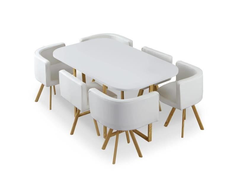 Xl Oslo Chaises Cotecosy Et Blanc Simili De Vente Table 4c5AqSjL3R