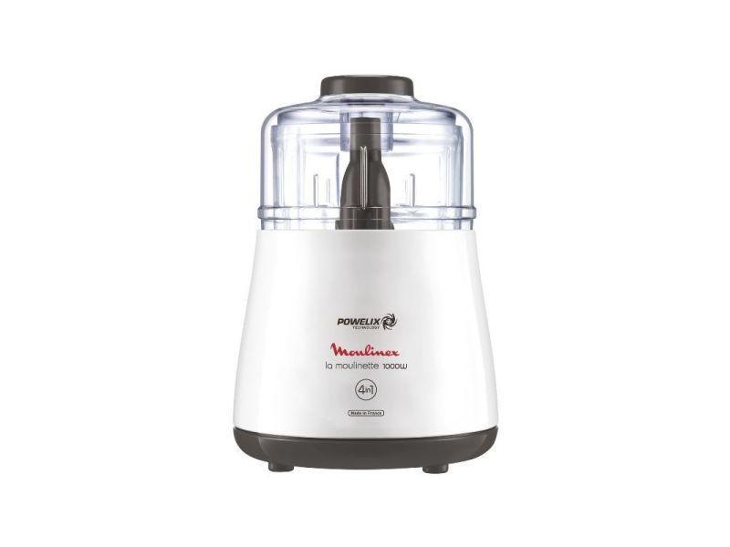 Moulinette powelix 1000w 4fonctions hacher mixer ciseler concasser bol moulinex - dpa110