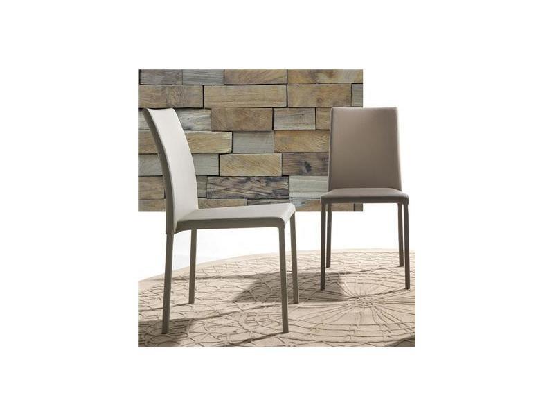amandalot empilable de taupe design 4Vente Chaise de W9IYeDE2Hb