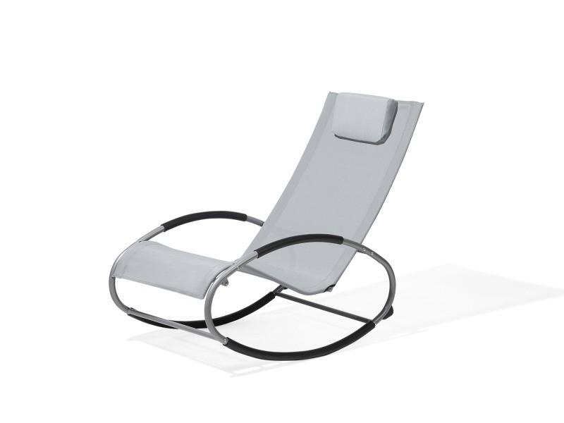 Chaise de jardin - chaise rose - chaise en plastique holmdel 52665